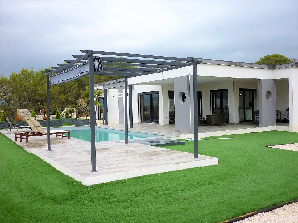 vente Superbe villa moderne de plain pied style Californien en ...