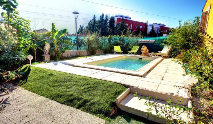 Vente mouans sartoux atypique villa t5 125m2 piscine for Piscine mouans sartoux