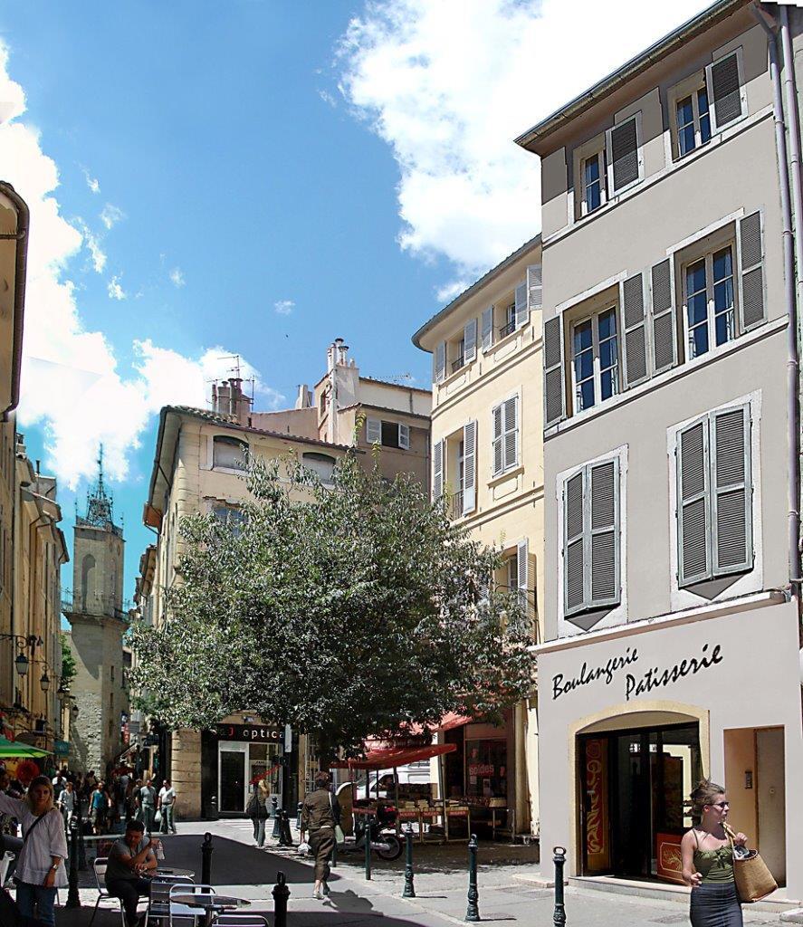 Annonce vente appartement aix en provence 13100 30 m for Appartement atypique aix en provence